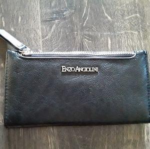 Enzo Angiolini black wallet